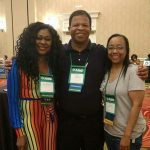 With Mr Curtis Warfield and Ms. Nichole Jefferson