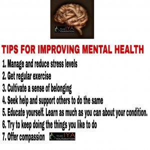 TIPS IMPROVING MENTAL HEALTH